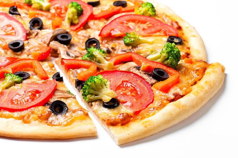 вкусная пицца в старой риге