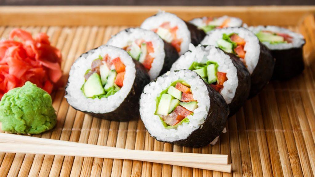 Суши в Риге