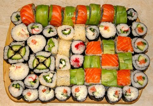 О разновидностях японских суши